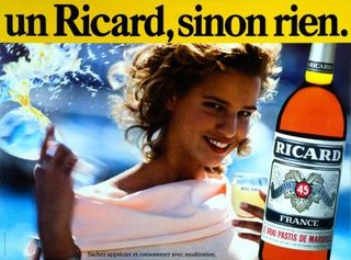 Publicité Ricard Design Marketing