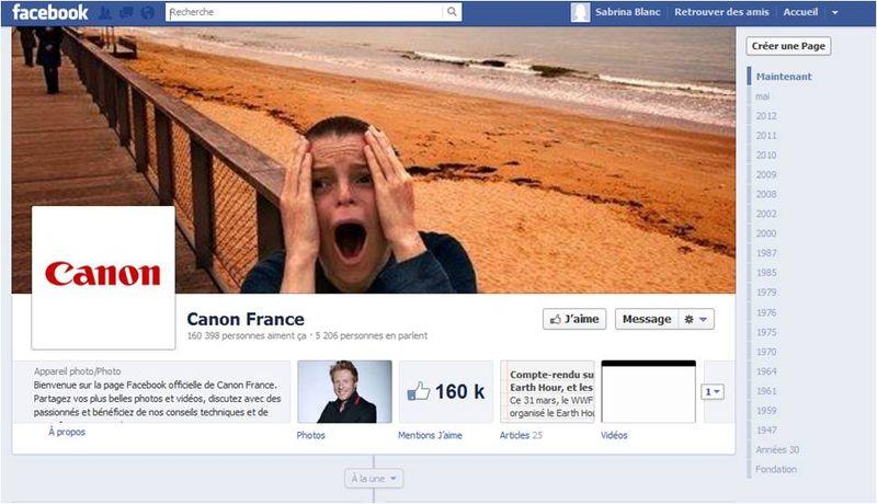 Canon Facebook Stratégie Digitale